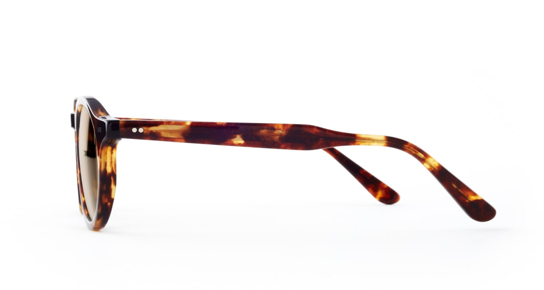 TYPE Garamond Bold-Tortoise Sunglasses [ラウンド]  1