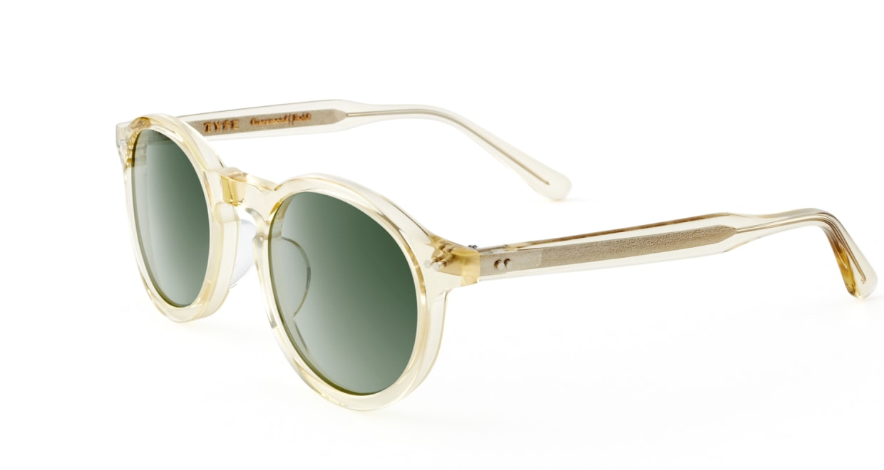 TYPE Garamond Bold-Clear Sunglasses [ラウンド]  2
