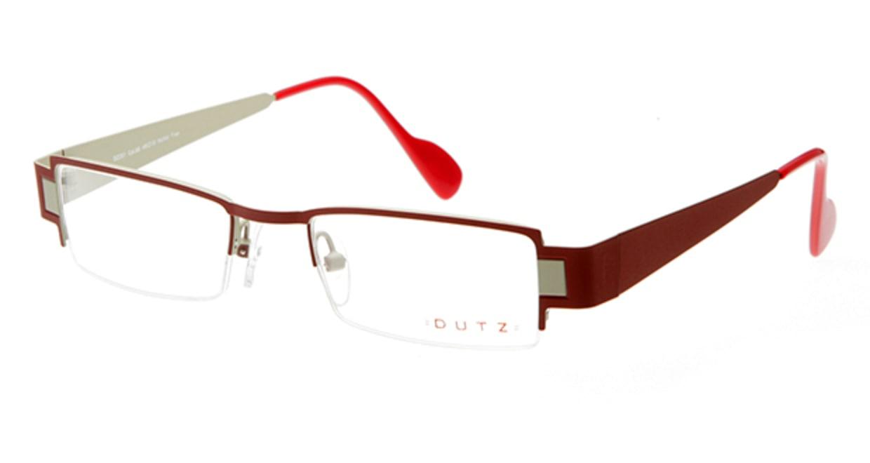 ダッツ DZ201-66 [メタル/ハーフリム/スクエア/赤]