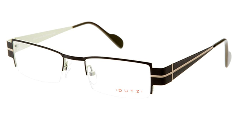 ダッツ DZ246-85 [メタル/ハーフリム/スクエア/グレー]