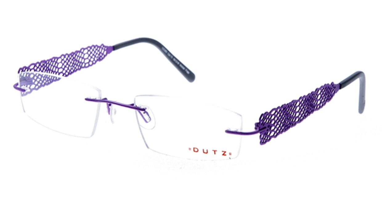ダッツ DZ305-70 [メタル/縁なし/スクエア/紫]