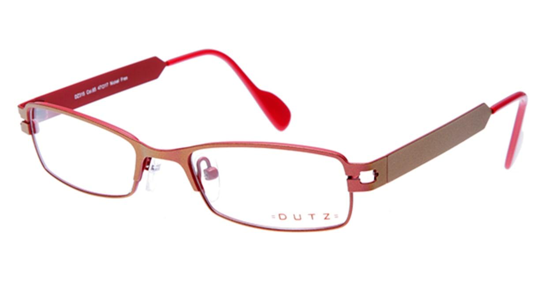 ダッツ DZ315-65 [メタル/スクエア/赤]
