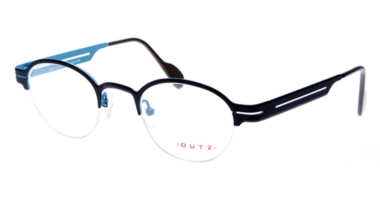 ダッツ DZ327-36 [メタル/ハーフリム/丸メガネ/グレー]