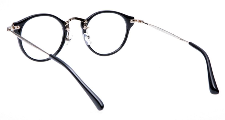 プラスオーエムジー ニュートラッド ルーク omg-025-1 [黒縁/丸メガネ]  2