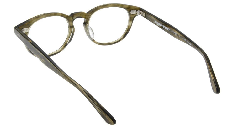 ラギッドファクトリー×プラスオーエムジー RF-001-5 [丸メガネ/安い/緑]  2