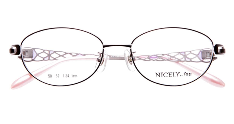 ナイスリー by フィッティ FT-137-5-50 [メタル/オーバル/ピンク]  3