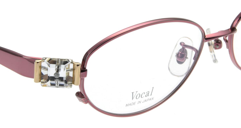 ヴォーカル VO-706-C-3-52 [メタル/オーバル/赤]  4