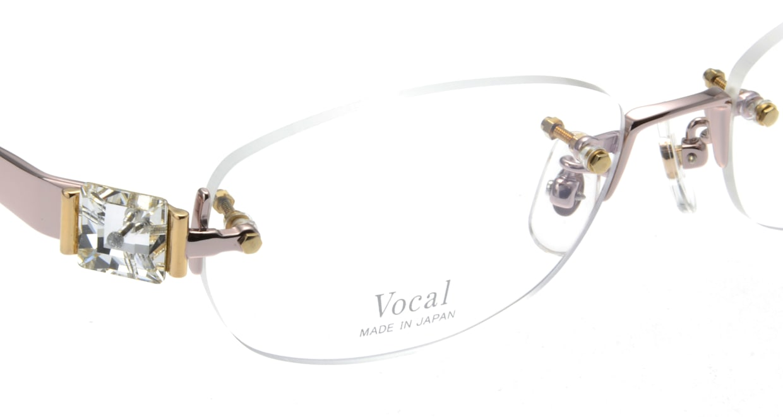ヴォーカル VO-708-C-2-53 [メタル/縁なし/オーバル/ピンク]  4