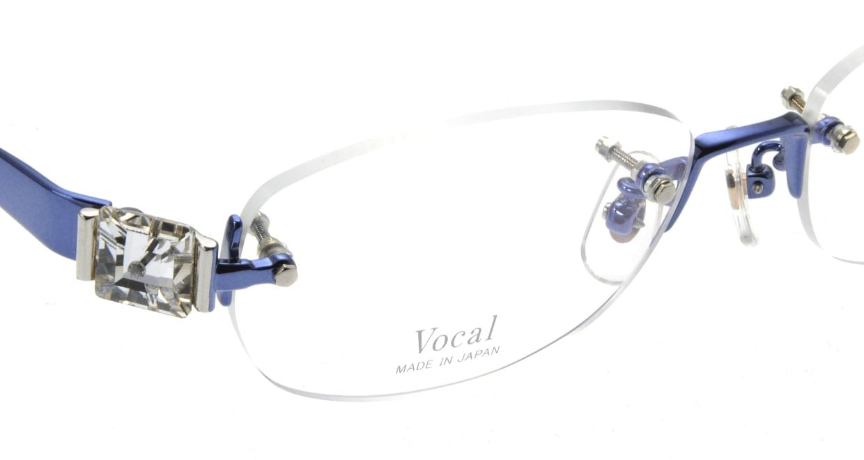 ヴォーカル VO-708-C-5-53 [メタル/縁なし/オーバル/青]  4