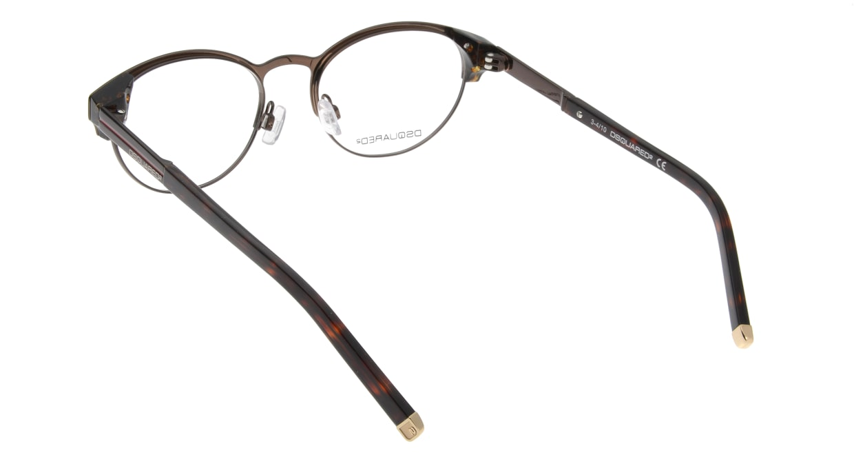 ディースクエアード DQ5032-45 フルリム 茶色 フレーム  メガネのオーマイグラス_2