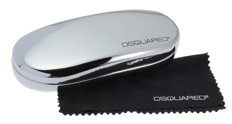 ディースクエアード DQ5032-45 フルリム 茶色 フレーム  メガネのオーマイグラス_5