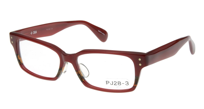 プラスサバエ PJ28-3 [スクエア/赤]