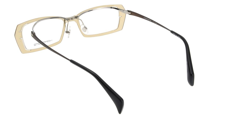 ハマモト HT-052-1 フルリム 茶色 フレーム  メガネのオーマイグラス_2