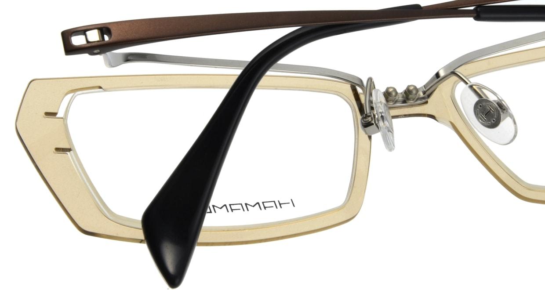 ハマモト HT-052-1 フルリム 茶色 フレーム  メガネのオーマイグラス_4