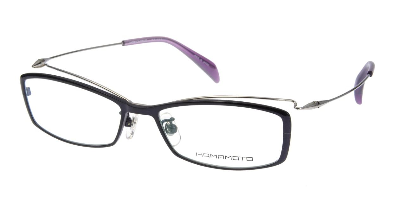 ハマモト HT-089-3 [メタル/スクエア/紫]