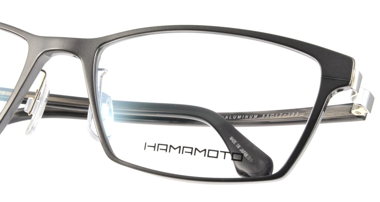 ハマモト HT-096-2 [メタル/ウェリントン/グレー]  4