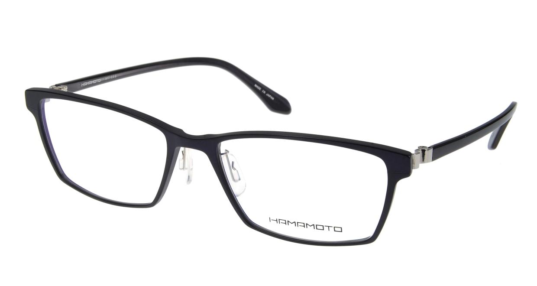 ハマモト HT-096-4 [メタル/ウェリントン/紫]