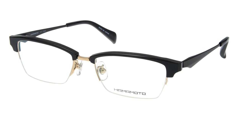 ハマモト HT-304-2 [メタル/ハーフリム/スクエア]
