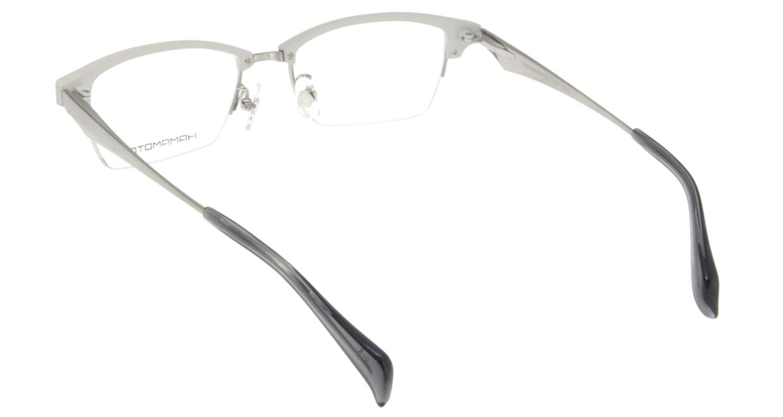 ハマモト HT-304-4 [メタル/ハーフリム/スクエア/白]  2