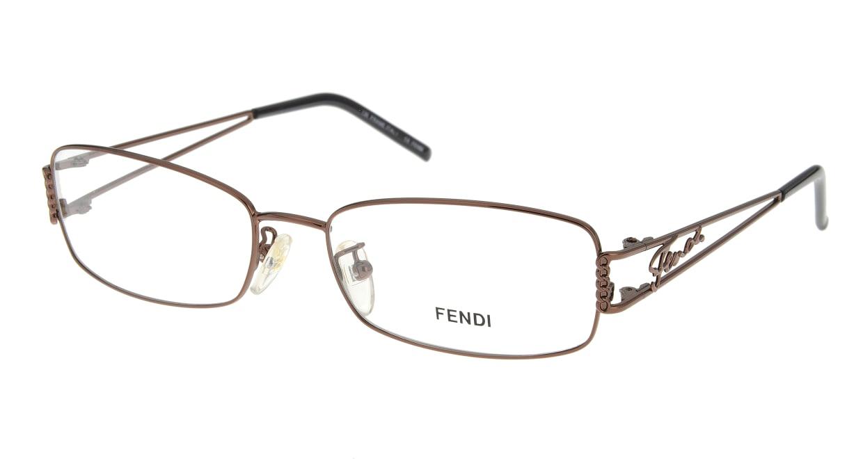 フェンディF690/N-210-54 [メタル/スクエア/安い/茶色]