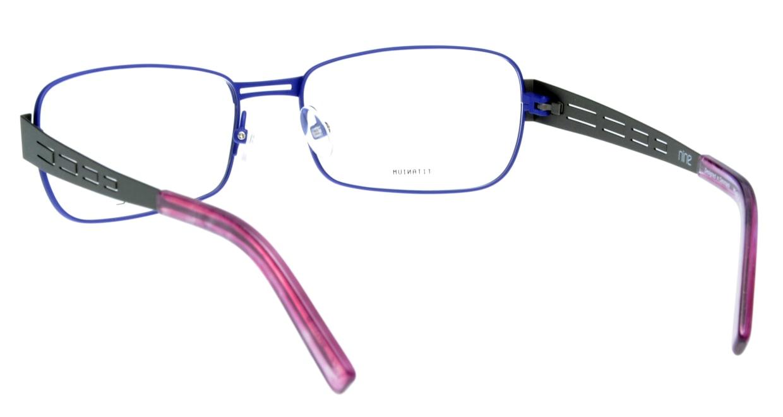 ナイン 1844-PUB フルリム 紫 フレーム  メガネのオーマイグラス_2