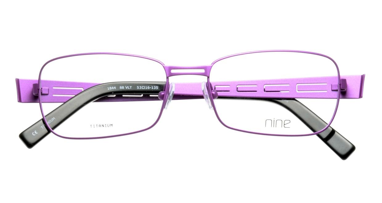 ナイン 1844-VLT [メタル/スクエア/紫]  3