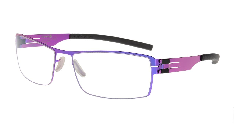 アイシーベルリン Nufenen Medium-electric violet-rxclear [スクエア/紫]