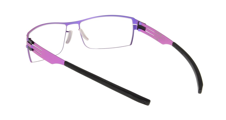 アイシーベルリン Nufenen Medium-electric violet-rxclear [スクエア/紫]  2
