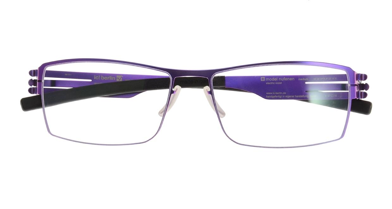 アイシーベルリン Nufenen Medium-electric violet-rxclear [スクエア/紫]  3