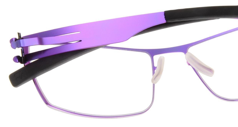 アイシーベルリン Nufenen Medium-electric violet-rxclear [スクエア/紫]  4