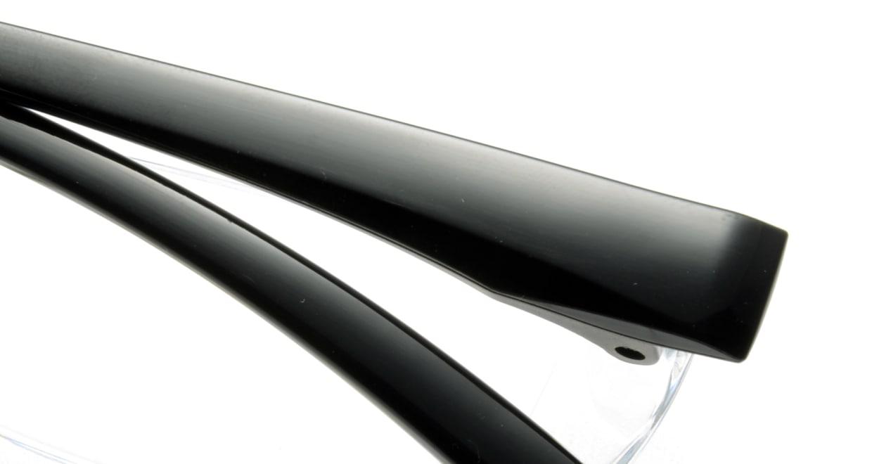 カルルック リーディンググラス +3.5 black [老眼鏡/鯖江産/スクエア/安い/透明]  4