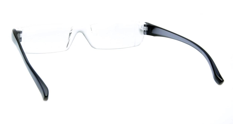 カルルック リーディンググラス +2.0 gray [老眼鏡/鯖江産/スクエア/安い/透明]  2