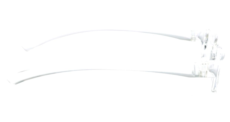 カルルック リーディンググラス +1.0 clear [老眼鏡/鯖江産/スクエア/安い/透明]  1