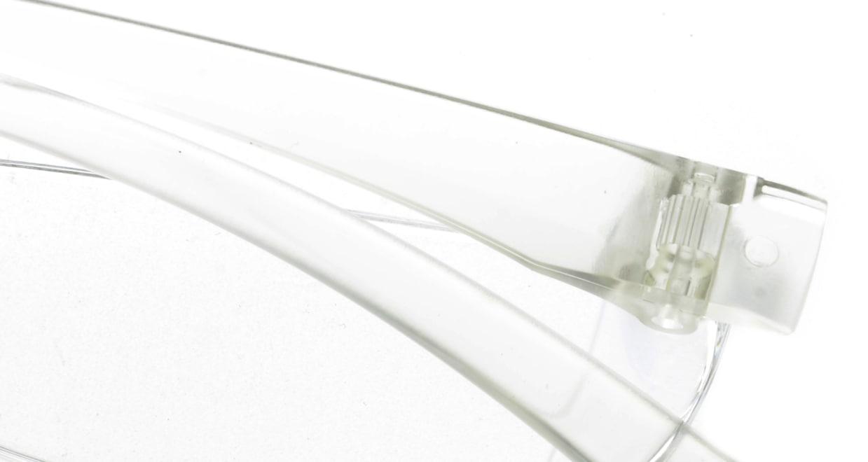 カルルック リーディンググラス +2.0 clear [老眼鏡/鯖江産/スクエア/安い/透明]  4