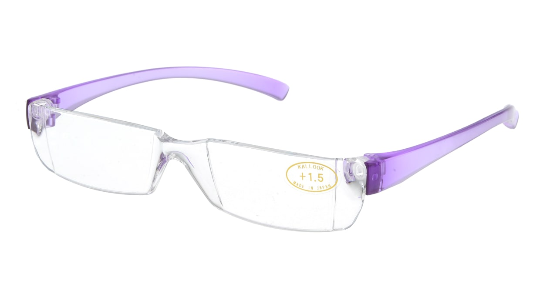 カルルック(KALLOOK) カルルック リーディンググラス +1.5 purple