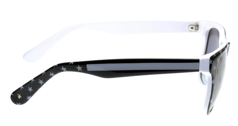 スターライツ SR-002-7 フルリム 黒 サングラス  メガネのオーマイグラス_1