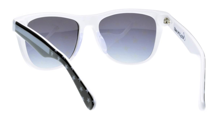 スターライツ SR-002-7 フルリム 黒 サングラス  メガネのオーマイグラス_2