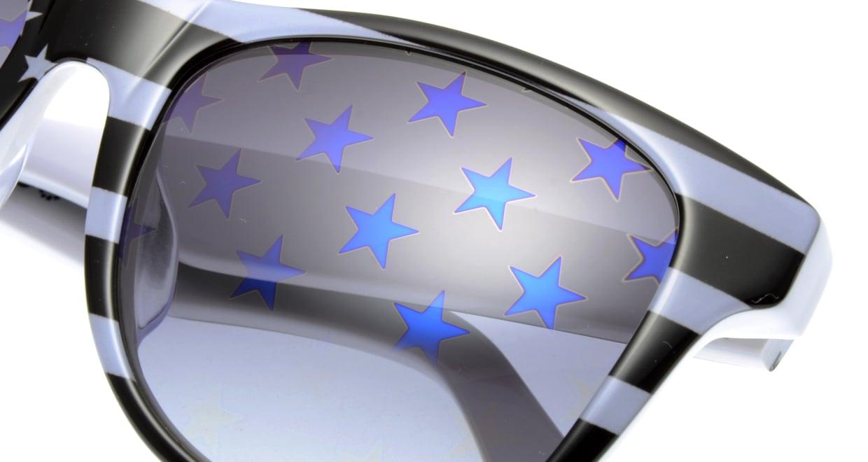 スターライツ SR-002-7 フルリム 黒 サングラス  メガネのオーマイグラス_4