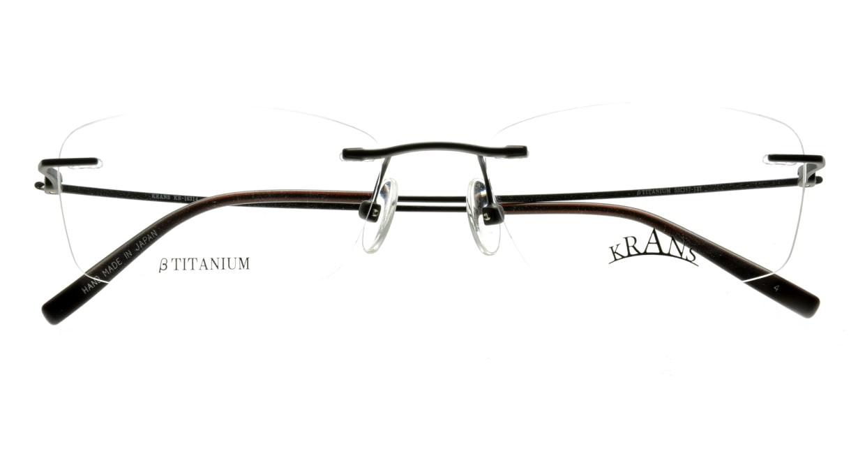 クランス KR-16314-4 縁なし グレー フレーム 日本製 メガネのオーマイグラス_3