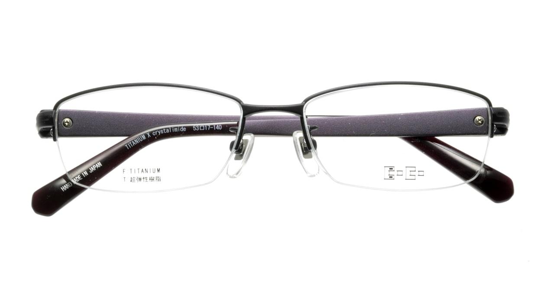ボコ BC-10308-251 [メタル/鯖江産/ハーフリム/スクエア/紫]  3