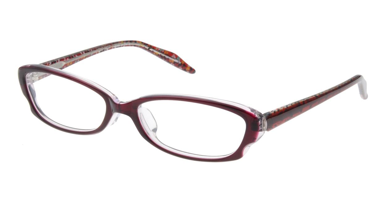 家メガネ 7821M-WN フルリム 紫 フレーム  メガネのオーマイグラス_0