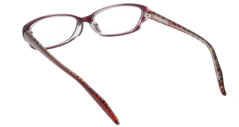 家メガネ 7821M-WN フルリム 紫 フレーム  メガネのオーマイグラス_2