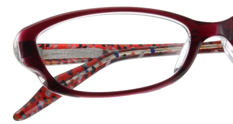 家メガネ 7821M-WN フルリム 紫 フレーム  メガネのオーマイグラス_4
