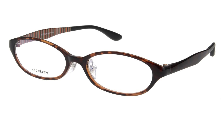 家メガネ 8116-LDM フルリム 茶色 フレーム  メガネのオーマイグラス_0