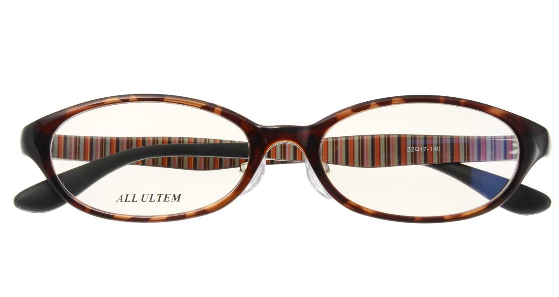 家メガネ 8116-LDM フルリム 茶色 フレーム  メガネのオーマイグラス_3