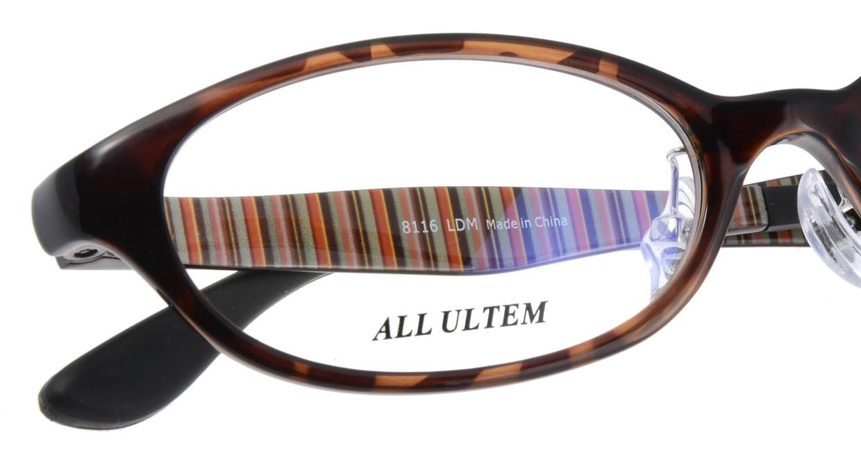 家メガネ 8116-LDM フルリム 茶色 フレーム  メガネのオーマイグラス_4