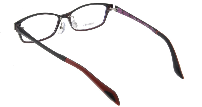家メガネ 8170-WN フルリム 茶色 フレーム  メガネのオーマイグラス_2