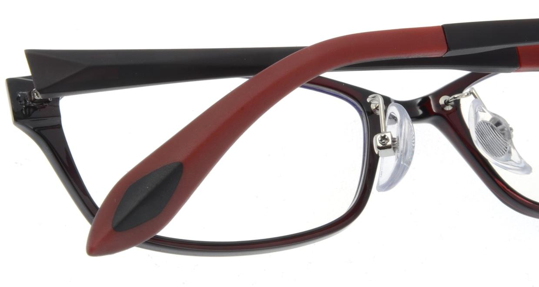 家メガネ 8170-WN フルリム 茶色 フレーム  メガネのオーマイグラス_4