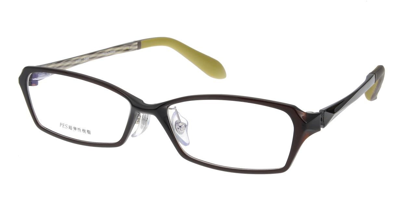 家メガネ 8171-DBR フルリム 茶色 フレーム  メガネのオーマイグラス_0