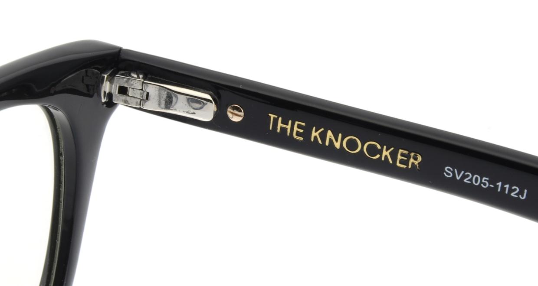 セイバー THE KNOCKER SV205-112J [黒縁/ウェリントン]  5